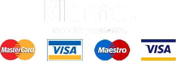 payment method klarna mastercad visa maestro