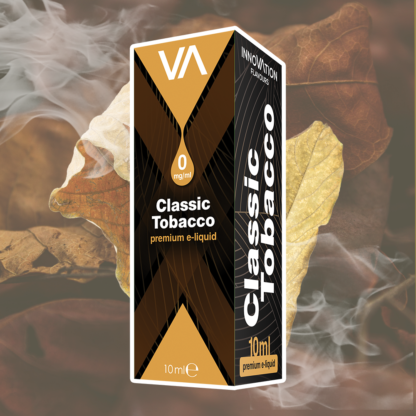 INNOVATION Classic Tobacco vape juice has a smooth and rich with flavor. The toasty, mellow essence of Virginia tobacco mingles with aromatic notes of the finest Turkish tobacco.