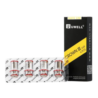 Coils Uwell Crown SUS316 Dual coil 0,25 4-pack