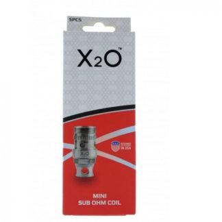 X2O ProV Mini Sub-ohm coils 0,5 ohm 5-pack